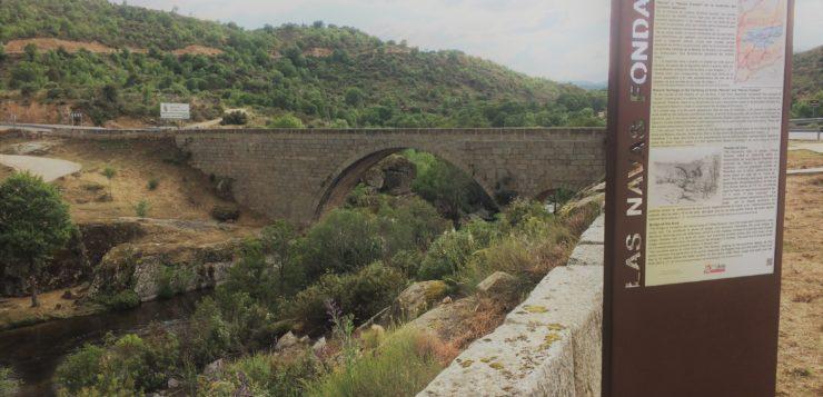 Una mañana en Puente Arco, cerca de Burgohondo, el Día de los Puentes del año 2018